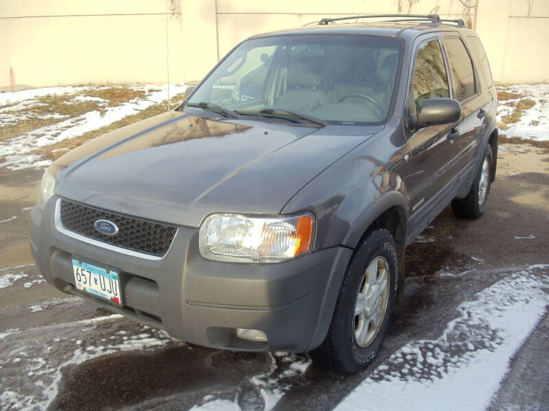 2002 Ford Escape for sale at Metro Motor Sales in Minneapolis MN