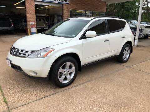 2004 Nissan Murano for sale at County Seat Motors East in Union MO