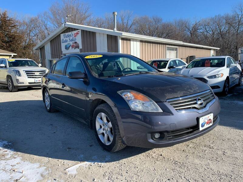 2008 Nissan Altima for sale at Victor's Auto Sales Inc. in Indianola IA