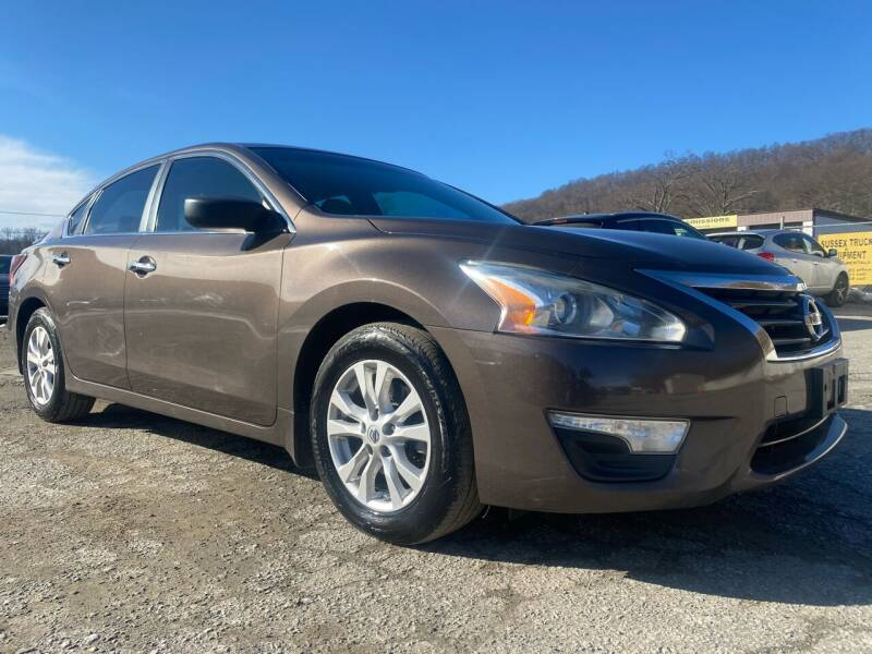 2014 Nissan Altima for sale at Ron Motor Inc. in Wantage NJ