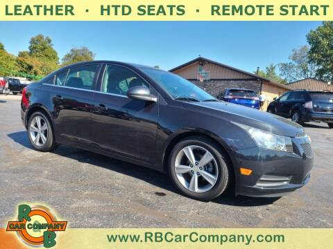 2014 Chevrolet Cruze for sale at R & B CAR CO - R&B CAR COMPANY in Columbia City IN