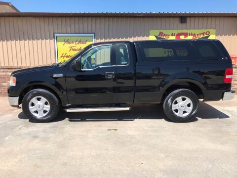 2004 Ford F-150 for sale at BIG 'S' AUTO & TRACTOR SALES in Blanchard OK