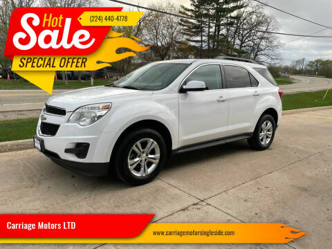 2010 Chevrolet Equinox for sale at Carriage Motors LTD in Ingleside IL
