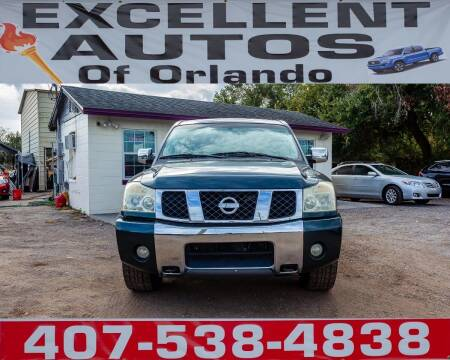 2004 Nissan Titan for sale at Excellent Autos of Orlando in Orlando FL
