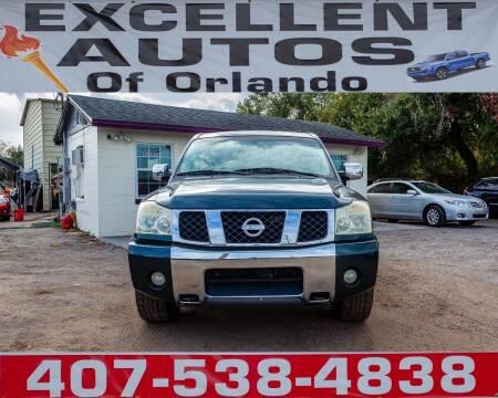 2004 Nissan Titan for sale at Excellent Autos of Orlando in Orlando FL