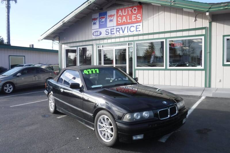 1994 BMW 3 Series for sale at 777 Auto Sales and Service in Tacoma WA