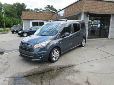 2014 Ford Transit Connect Wagon for sale at Millbrook Auto Sales in Duxbury MA