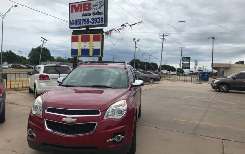 2012 Chevrolet Equinox for sale at MB Auto Sales in Oklahoma City OK