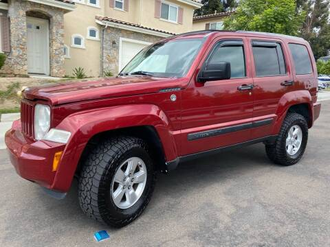2011 Jeep Liberty for sale at CALIFORNIA AUTO GROUP in San Diego CA