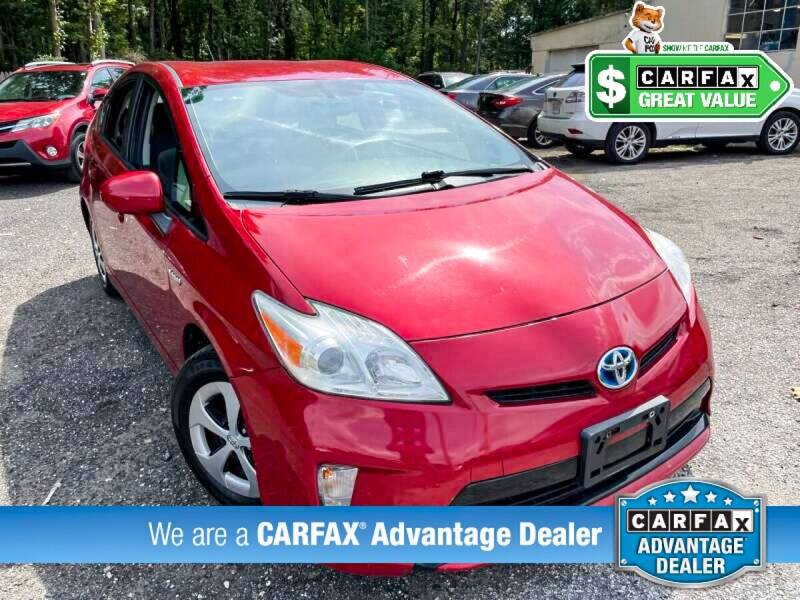 2013 Toyota Prius for sale at High Rated Auto Company in Abingdon MD