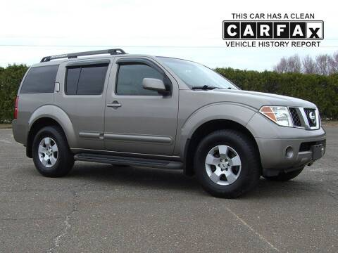 2007 Nissan Pathfinder for sale at Atlantic Car Company in East Windsor CT