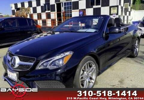 2016 Mercedes-Benz E-Class for sale at BaySide Auto in Wilmington CA