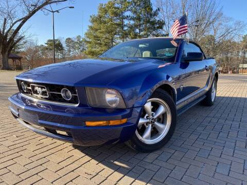 2009 Ford Mustang for sale at JES Auto Sales LLC in Fairburn GA
