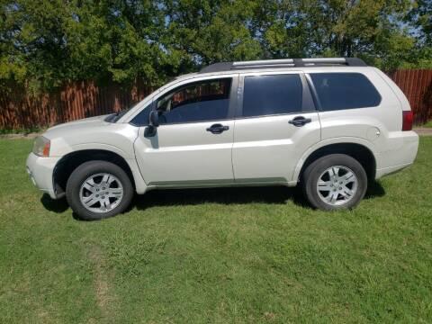 2008 Mitsubishi Endeavor for sale at El Jasho Motors in Grand Prairie TX