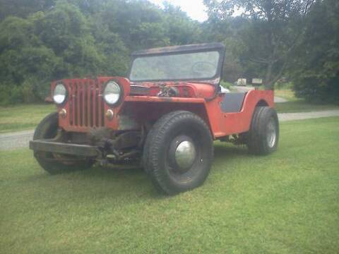 1949 Willys Jeep for sale at Haggle Me Classics in Hobart IN
