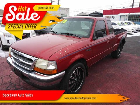 1998 Ford Ranger for sale at Speedway Auto Sales in Yakima WA