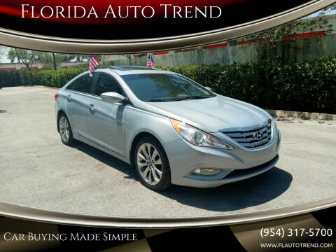 2013 Hyundai Sonata for sale at Florida Auto Trend in Plantation FL
