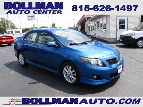 2010 Toyota Corolla for sale at Bollman Auto Center in Rock Falls IL