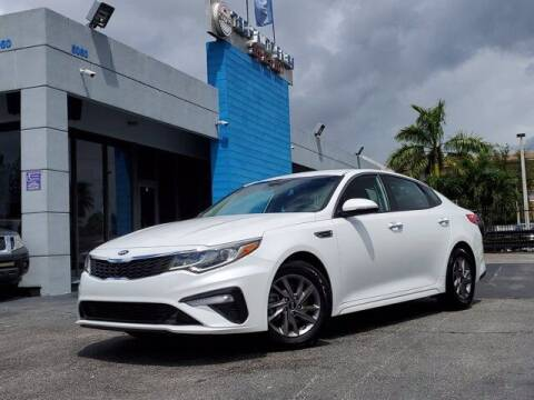 2019 Kia Optima for sale at Tech Auto Sales in Hialeah FL