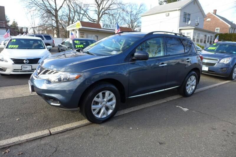 2012 Nissan Murano for sale at FBN Auto Sales & Service in Highland Park NJ