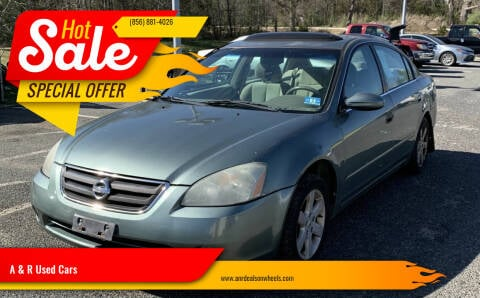 2004 Nissan Altima for sale at A & R Used Cars in Clayton NJ