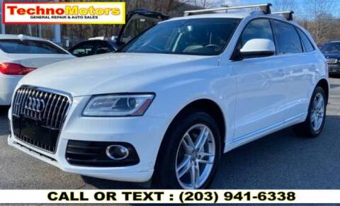 2013 Audi Q5 for sale at Techno Motors in Danbury CT