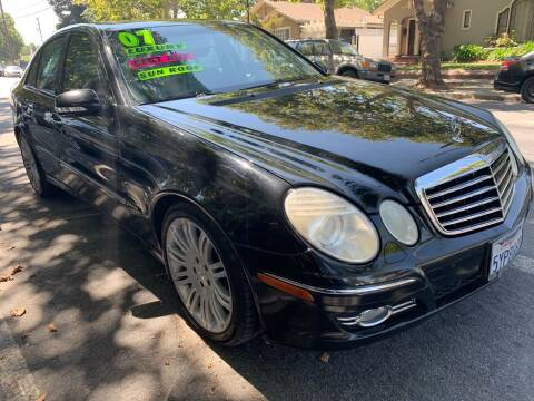 2007 Mercedes-Benz E-Class for sale at Bay Areas Finest in San Jose CA