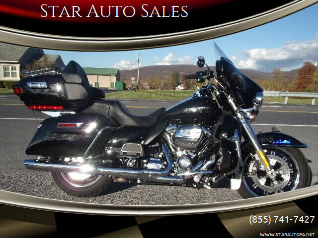2018 Harley-Davidson ELECTRA GLIDE ULTRA LIMITED for sale at Star Auto Sales in Fayetteville PA