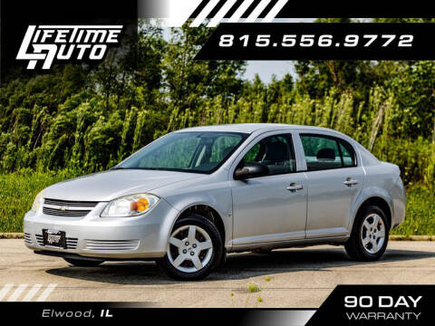 2008 Chevrolet Cobalt for sale at Lifetime Auto in Elwood IL