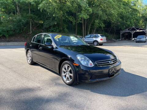 2005 Infiniti G35 for sale at Worldwide Auto Group LLC in Monroeville PA