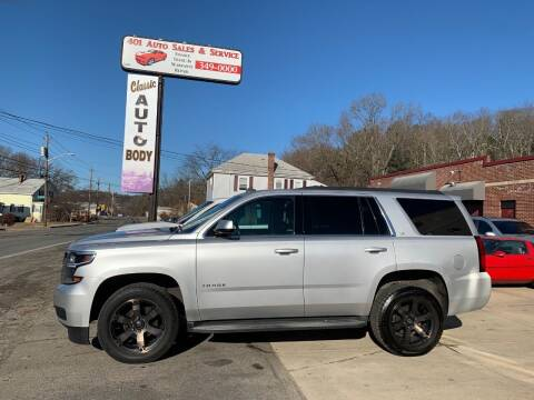 2015 Chevrolet Tahoe for sale at 401 Auto Sales & Service in Smithfield RI