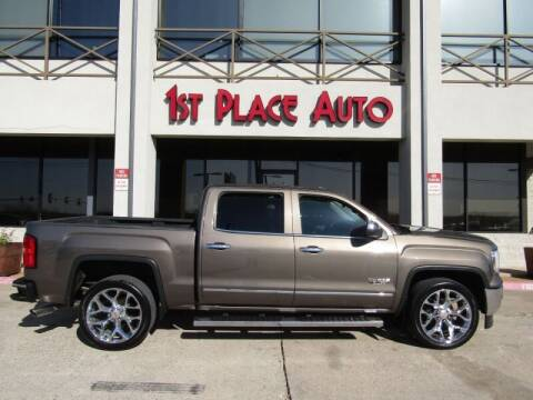 2015 GMC Sierra 1500 for sale at First Place Auto Ctr Inc in Watauga TX