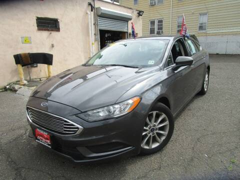 2017 Ford Fusion for sale at 500 Down Buy Here Pay Here in Paterson NJ