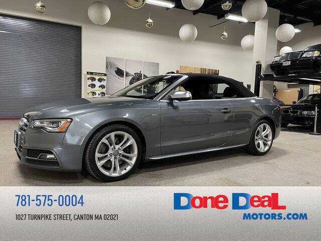 2014 Audi S5 for sale at DONE DEAL MOTORS in Canton MA