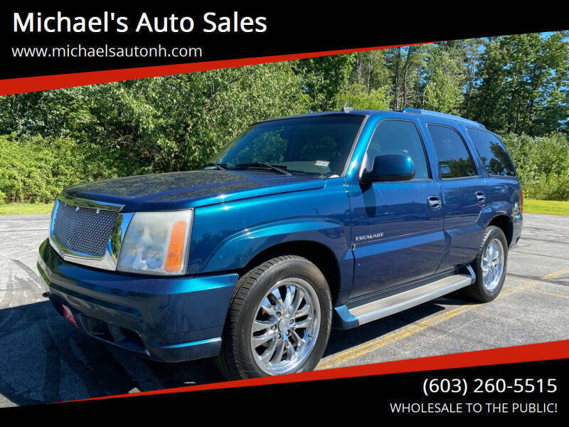 2006 Cadillac Escalade for sale at Michael's Auto Sales in Derry NH