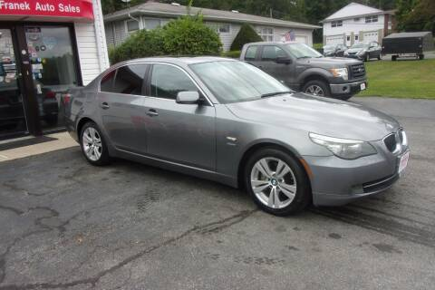 2009 BMW 5 Series for sale at Dave Franek Automotive in Wantage NJ