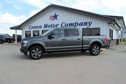 2017 Ford F-150 for sale at Cresco Motor Company in Cresco IA