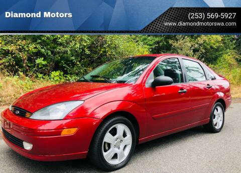2003 Ford Focus for sale at Diamond Motors in Lakewood WA