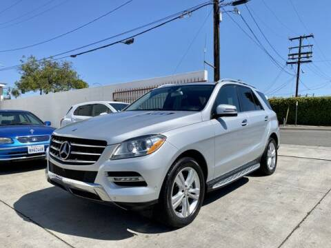 2014 Mercedes-Benz M-Class for sale at Prime Sales in Huntington Beach CA