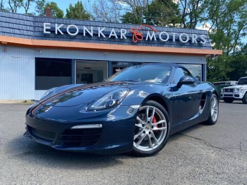 2013 Porsche Boxster for sale at Ekonkar Motors in Scotch Plains NJ