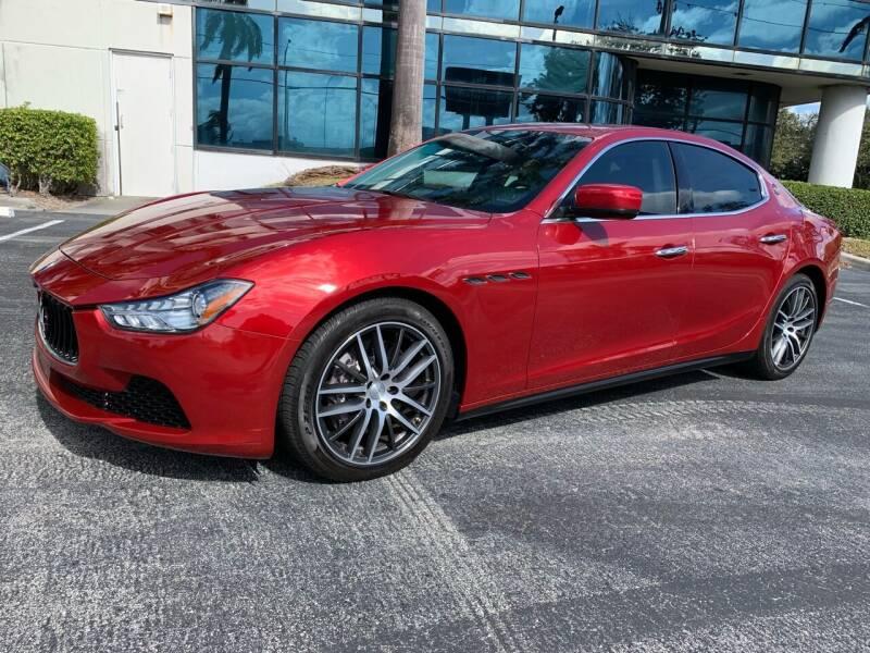 2015 Maserati Ghibli for sale at Top Trucks Motors in Pompano Beach FL