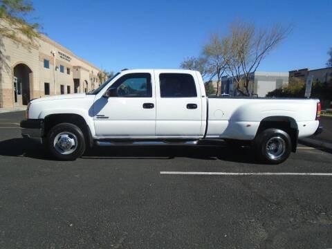 2004 Chevrolet Silverado 3500 for sale at COPPER STATE MOTORSPORTS in Phoenix AZ