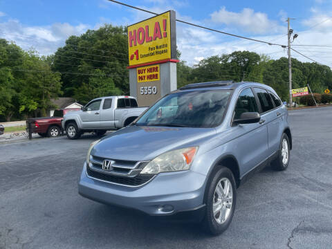 2010 Honda CR-V for sale at No Full Coverage Auto Sales in Austell GA