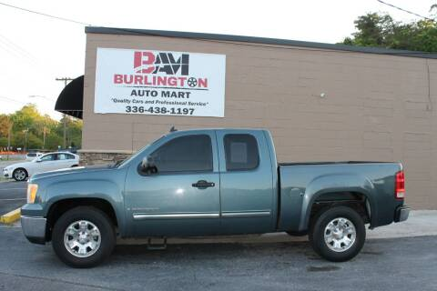 2008 GMC Sierra 1500 for sale at Burlington Auto Mart in Burlington NC