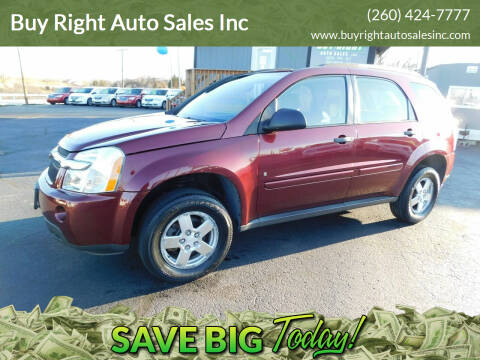 2008 Chevrolet Equinox for sale at Buy Right Auto Sales Inc in Fort Wayne IN