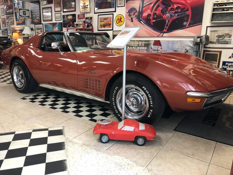 1970 Chevrolet Corvette for sale at A & A Classic Cars in Pinellas Park FL