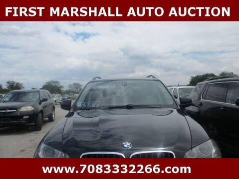 2011 BMW X5 for sale at First Marshall Auto Auction in Harvey IL