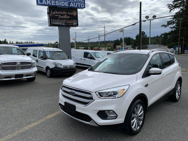 2017 Ford Escape for sale at Lakeside Auto in Lynnwood WA