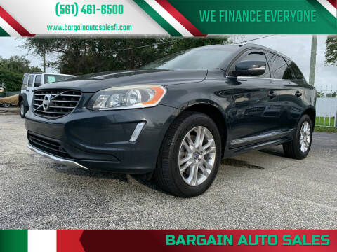 2014 Volvo XC60 for sale at Bargain Auto Sales in West Palm Beach FL