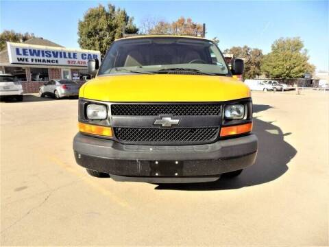 2013 Chevrolet Express Cargo for sale at Lewisville Car in Lewisville TX